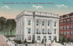 NEW LONDON, Connecticut, 1900-10s; Municipal Building (James Sweeney, Architect)