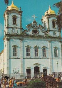 Salvador Senhor Do Bonfim Church Brazil Postcard