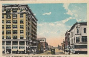 OGDEN, Utah, 1900-10s; Twenty-Fourth Street, Eccles & Col. Hudson Buildings