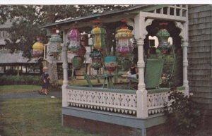 OAK BLUFFS, Massachusetts; Chinese Lantern Display at Camp Meeting Grounds, P...