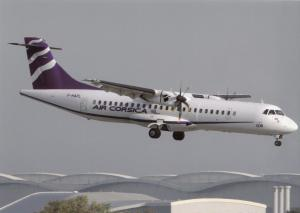 AIR CORSICA, ATR-72-500, at Toulouse, unused Postcard