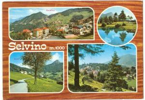 Italy, Selvino, multi view, unused Postcard