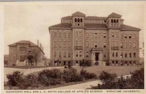 New York Syracuse University Machinery Hall And L C Smith College Of Applied ...