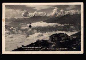 035185 AUSTRIA Innsbrucker nordkettenbahn Vintage RPPC