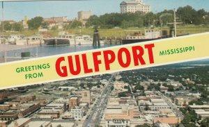 GULFPORT , Mississippi, 50-60s ; split views