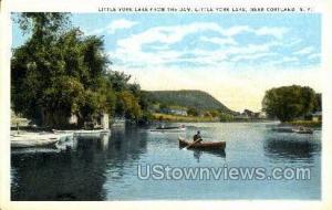 Little York Cortland NY Unused