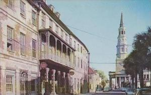 South Carolina Charleston Along Church Street