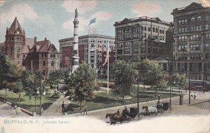 BUFFALO, New York, PU-1908; Lafayette Square