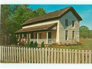 Vintage Post Card Becky Cable House Cades Cove Nat Park Cable Mill  # 4071