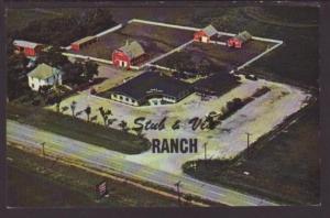 Stub's Ranch Kitchen Restaurant,Spencer,IA Postcard