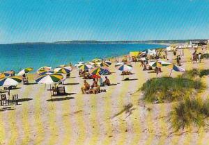 ALGARVE, Quarteira, The Beach, Portugal, 50-70s