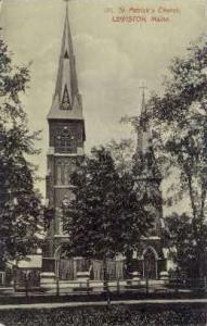 St. Patrick's Church Lewiston ME Unused