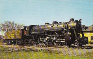 Maine Central Railroad Locomotive Old Number 470