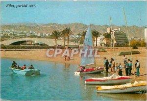 Postcard Modern Eilat partial view