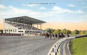 Race Track, Lexington, Kentucky, USA, Horse Racing Postcard Unused