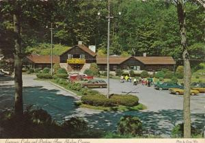 Entrance Lodge And Parking Area Skyline Caverns Front Royal Virginia 1976