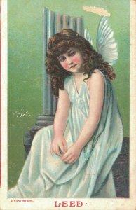 Angel Vintage Postcard Leed 03.45