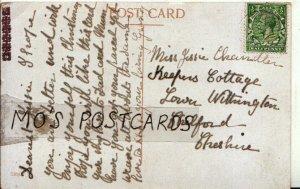 Genealogy Postcard - Chandler - Lower Wittington - Chelford - Cheshire Ref 7841A
