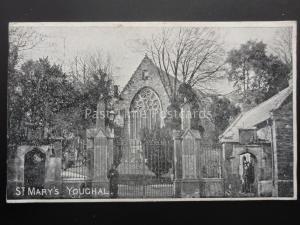 Ireland CORK Youghal St Marys Church c1905 Old Postcard