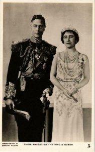 CPM AK King George VI Queen Elizabeth BRITISH ROYALTY (678486)