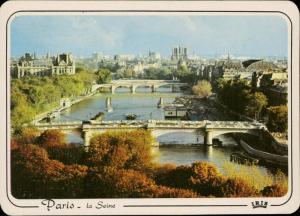 Paris la Seine Notre Dame