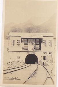 RP: Western Portal Connaught Railroad Tunnel , B.C. , Canada , 00-10s