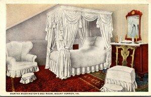 Virginia Mount Vernon Washington's Mansion Martha Washington's Bedr...