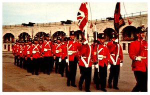 Canada Kingston ONT  Old Fort Henry Guard on the March