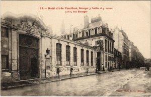 CPA PARIS 4e - Hotel dit de Vendome (56875)