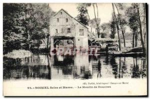 Postcard Old water mill Noisiel The mill Dover