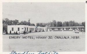 Emery Motel , HIWAY 30 , OGALLALA , Nebraska , 1940s