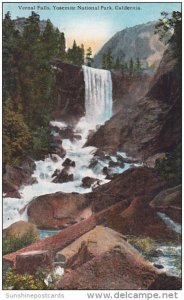 Vernal Falls Yosermite National Park California