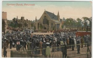 Hampshire; Garrison Church, Portsmouth PPC, Unposted, By Valentines, c 1910's