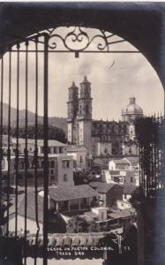 RP, Desde Un Porton Colonial, Taxco, Gro., Mexico, 1930-1950s