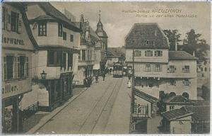 Ansichtskarte  VINTAGE POSTCARD: GERMANY - Bad Kreuznach - TRAM!