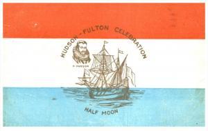 6053   Hudson-Fulton Celebration    Souvenir Card