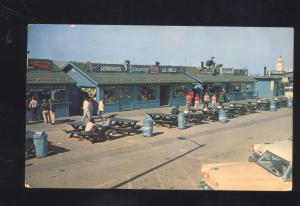 LONG BEACH CALIFORNIA PIERPOINT LANDING STORES OLD CARS