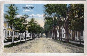 Lewiston, Me, College Street