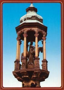 Magdeburg an der Elbe, Statue Monument Denkmal Magdeburger Reiter