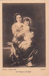 Murillo La Vergine col figlio Galleria Pitti Firenze