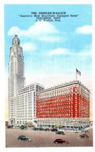 Ohio Columbus The Deshler-Wallick Hotel