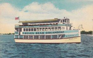 Florida Miami Seven Seas Dreamboat Pier 10 City Yacht Basin sk1563