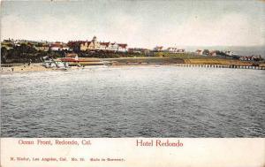 11955  CA Redondo Beach 1903  Ocean Front Beach