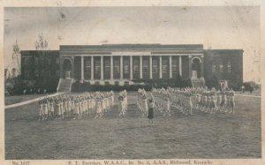 RICHMOND , Kentucky , 1943 ; W.A.A.C. , P.T. Exercises
