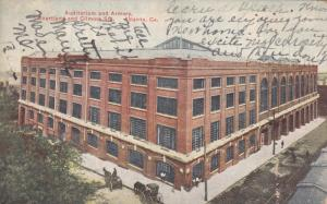 ATLANTA, Georgia , PU-1911; Auditorium & Armory, Courtland & Gilmore Sts.