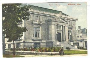 Public Library, Attleboro, Massachusetts, PU-1908