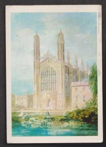 King's College Chapel, Cambridge, England - Used In Deleware 1986