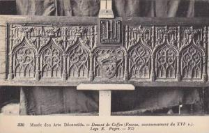 Musee des Arts Decoratifs, Devant de Cofre, France, 00-10s