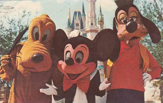 Florida Orlando Walt Disney World Welcome To The Magic Kingdom 1973