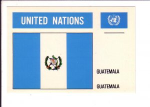 Guatemala, Flag, United Nations